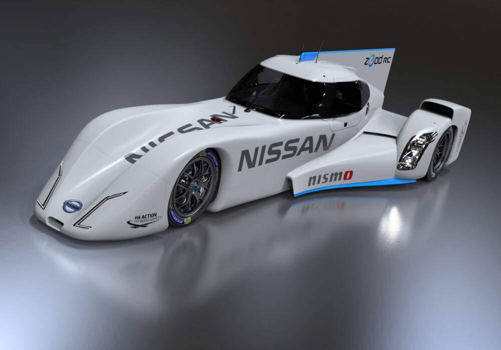 Fiche technique Nissan ZEOD RC (2014)