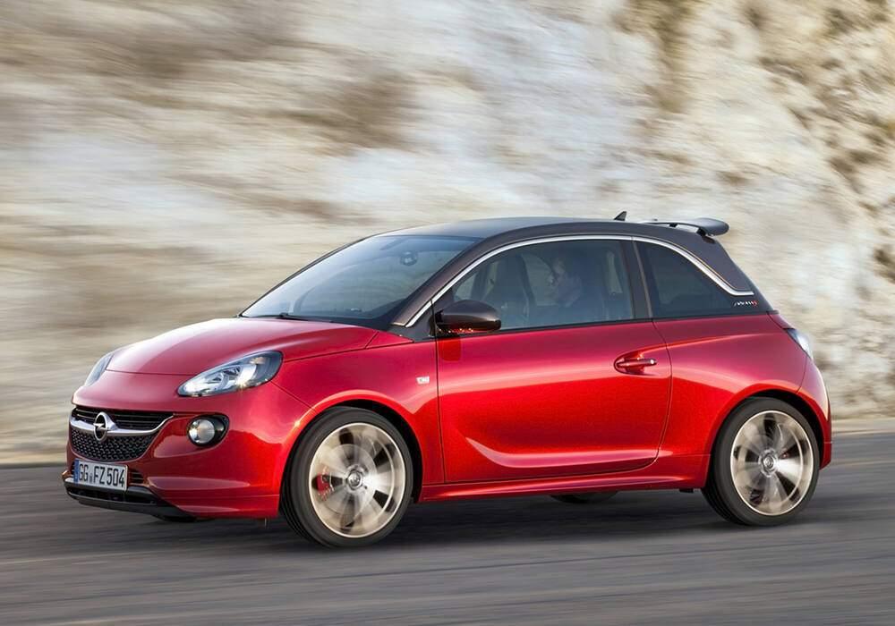 Fiche technique Opel Adam S (2014-2019)