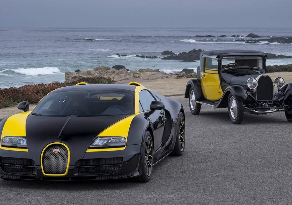 Fiche technique Bugatti EB 16.4 Veyron Grand Sport Vitesse « 1 of 1 » (2014)