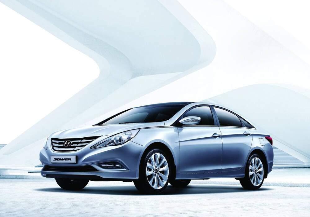 Fiche technique Hyundai Sonata VI 2.4 (YF) (2010-2012)