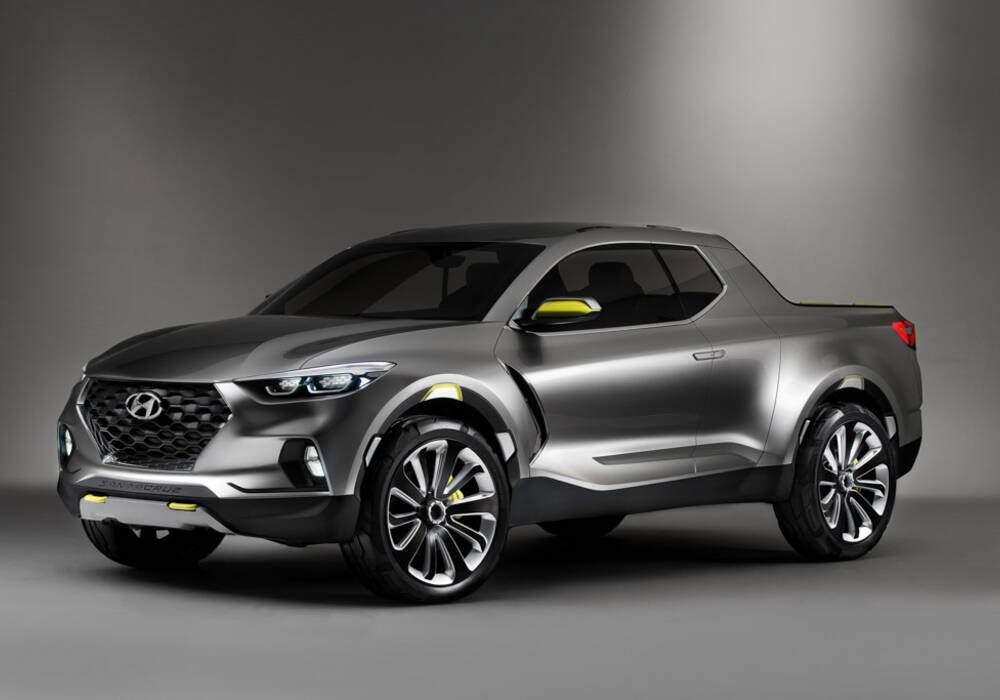 Fiche technique Hyundai Santa Cruz Concept (2015)