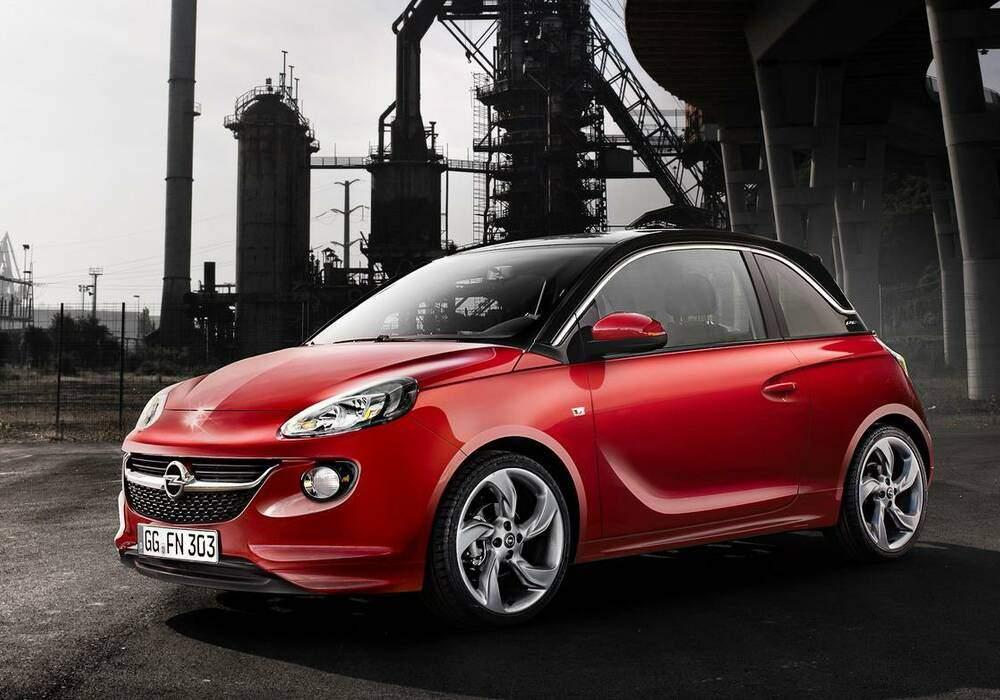 Fiche technique Opel Adam 1.0 Turbo 115 (2014-2019)
