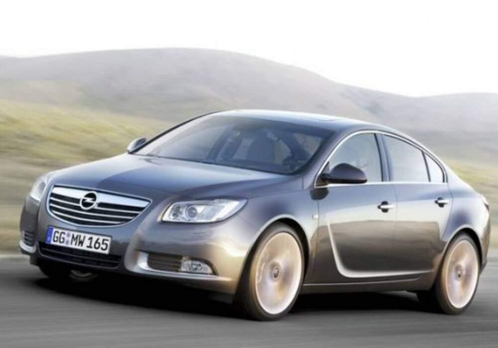 Fiche technique Opel Insignia 2.8 V6 Turbo (2009-2010)