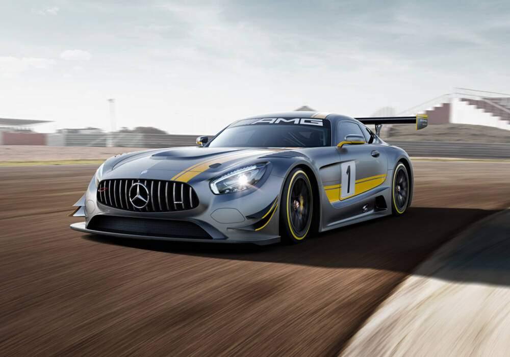 Fiche technique Mercedes-AMG GT3 (2015)