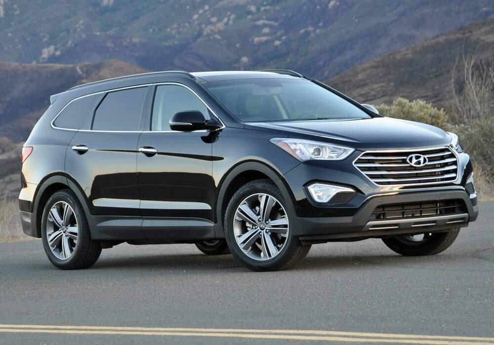Fiche technique Hyundai Santa Fe III 2.0 CRDi 150 (2014-2018)
