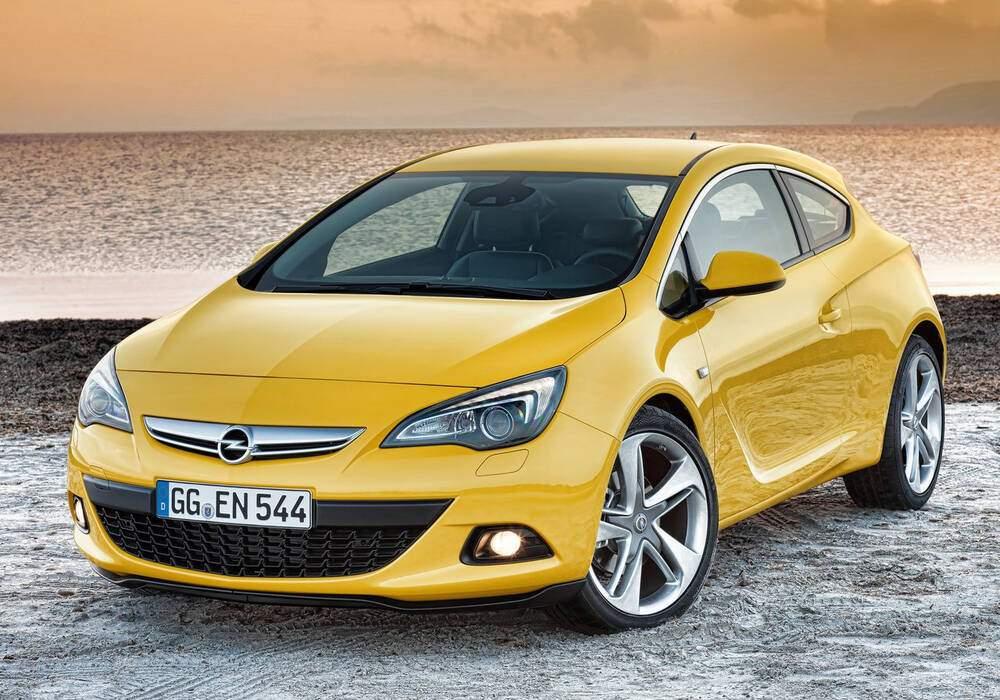 Fiche technique Opel Astra IV GTC 1.6 CDTi 110 (2014)