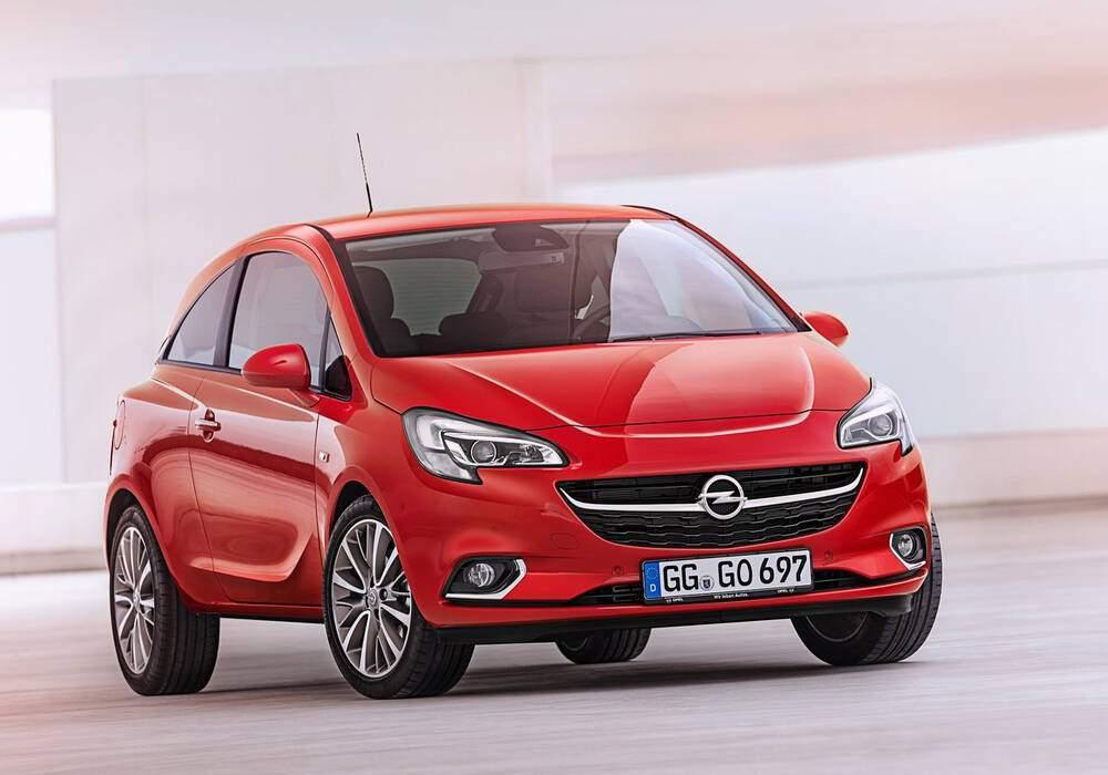Fiche technique Opel Corsa V 1.2 (2014)