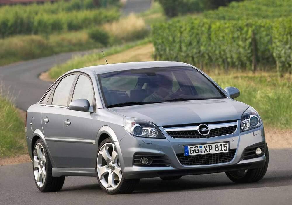 Fiche technique Opel Vectra III 3.0 CDTi 185 (C) (2005-2009)