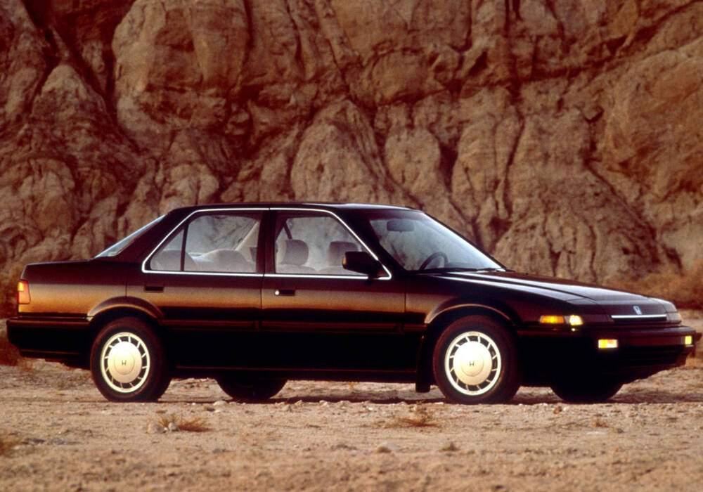 Fiche technique Honda Accord III 2.0 (1985-1989)