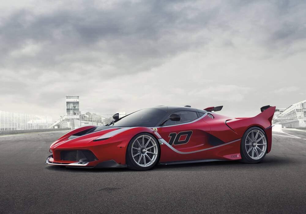 Fiche technique Ferrari FXX-K (2015-2017)
