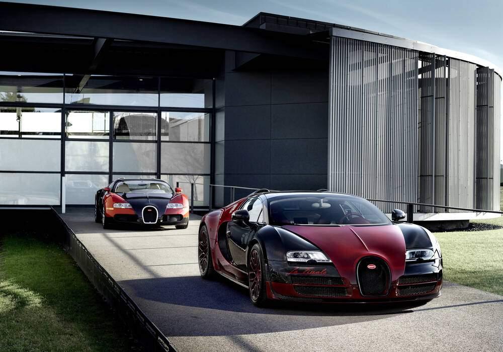 Fiche technique Bugatti EB 16.4 Veyron Grand Sport Vitesse « La Finale » (2015)