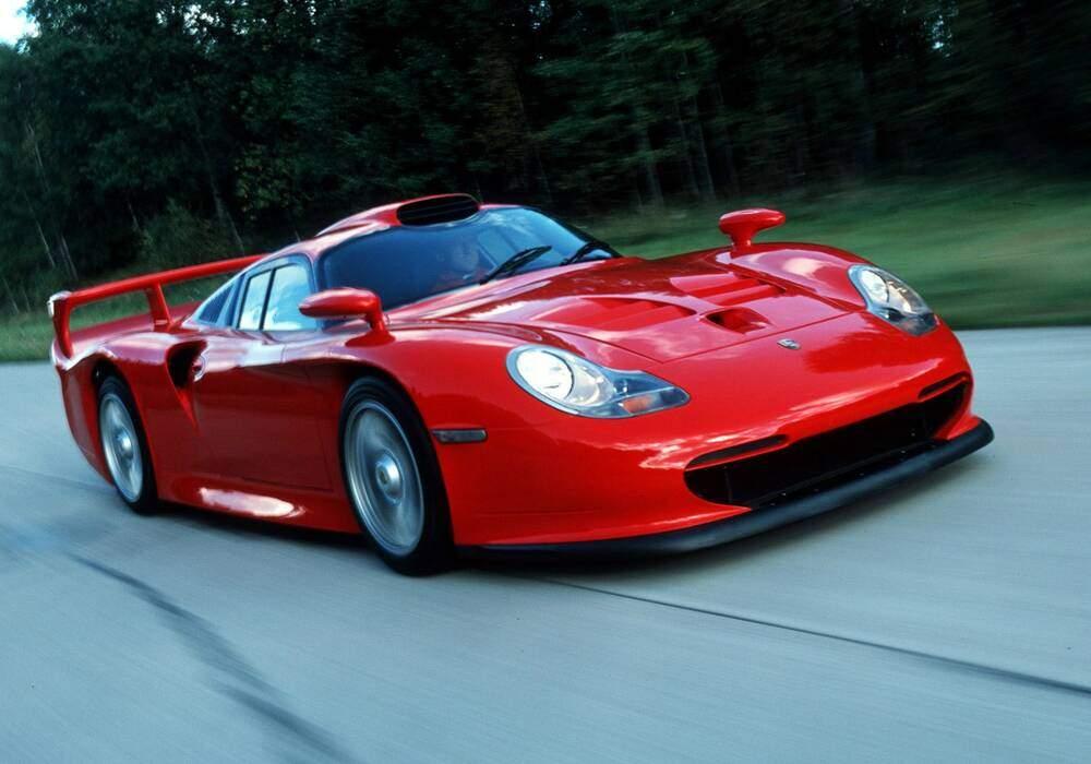 Histoire : Porsche 911 GT1