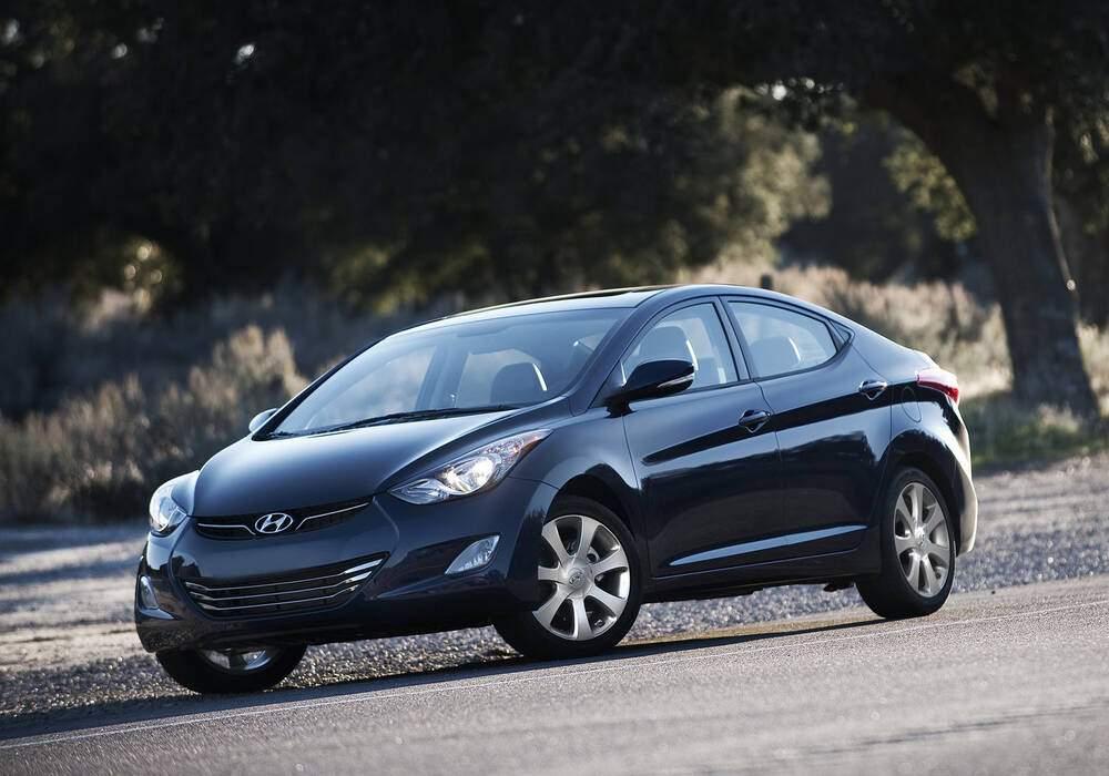 Fiche technique Hyundai Elantra V 1.8 (2011-2016)