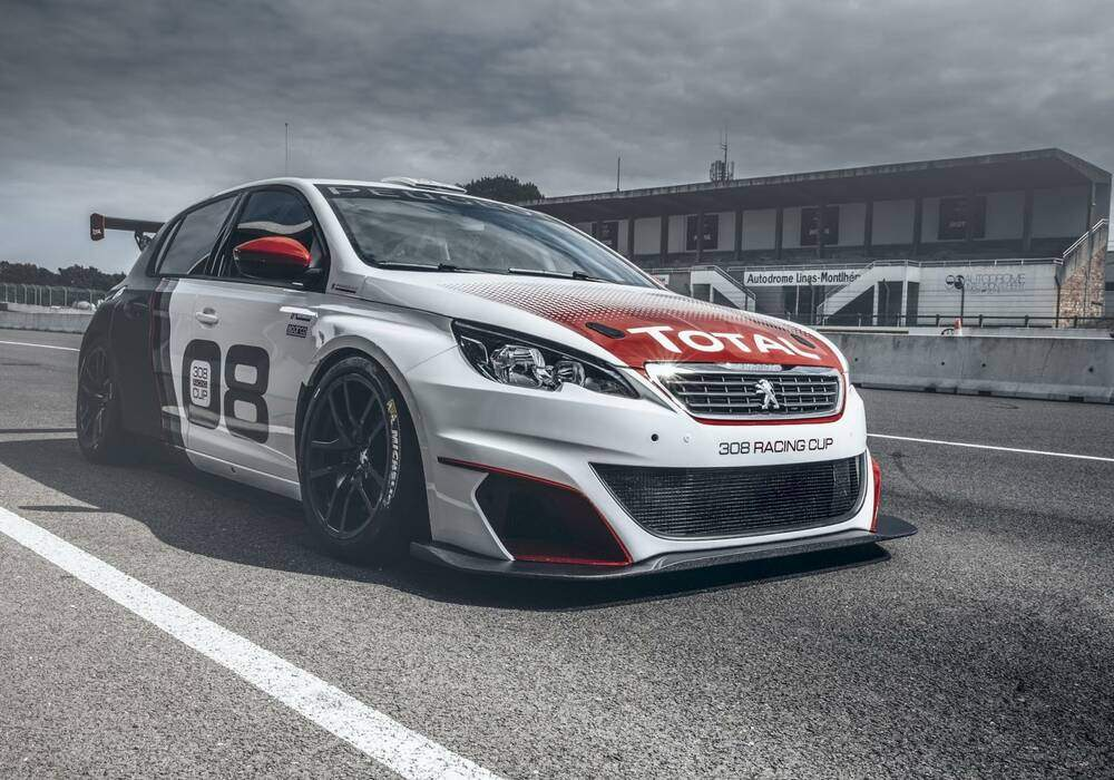 Peugeot 308 Racing Cup, 308 chevaux