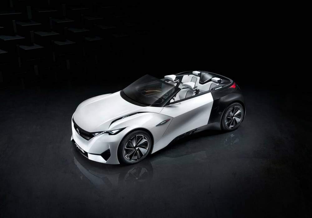 Peugeot dévoile le concept Fractal