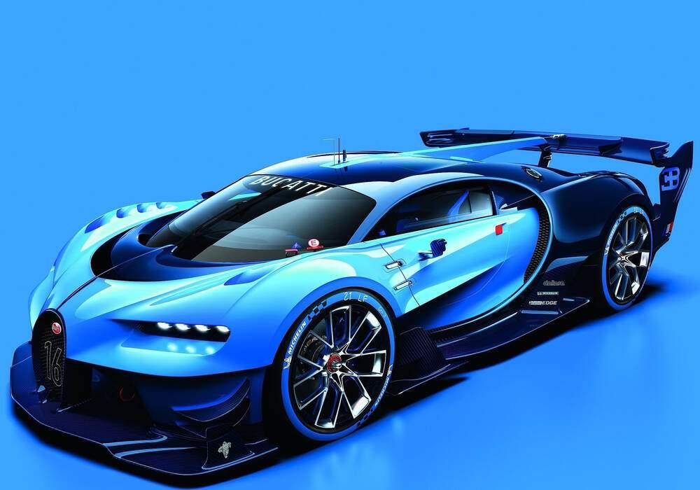 Fiche technique Bugatti Vision Gran Turismo Concept (2015)