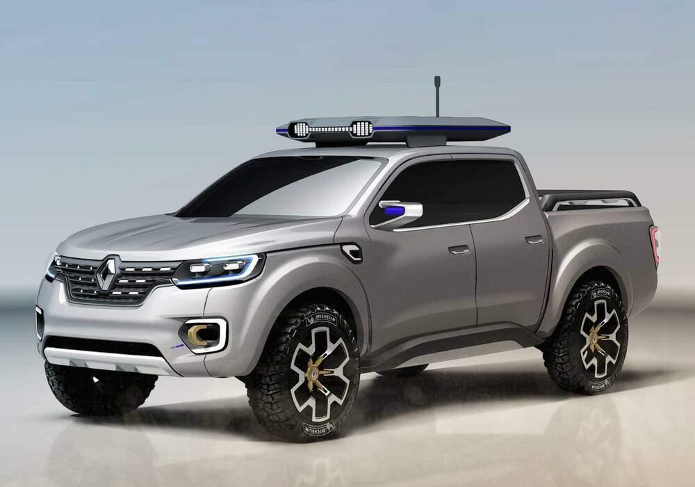 Renault se lance dans le pick-up avec Alaskan Concept