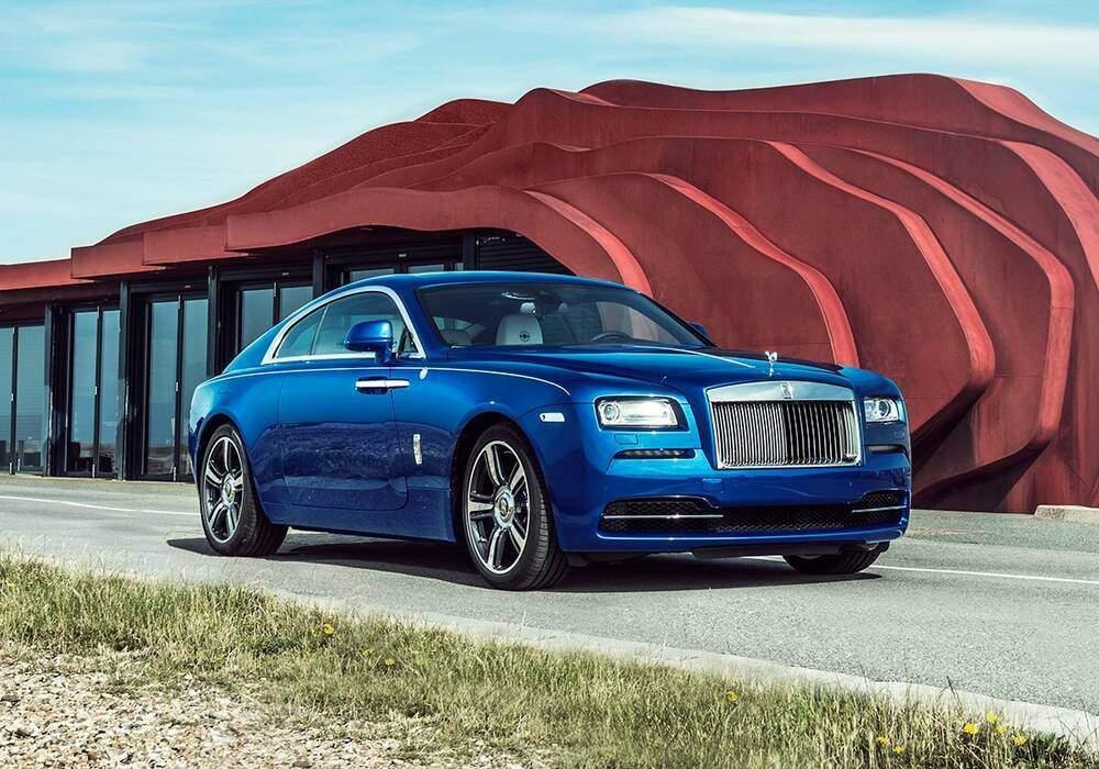 Rolls-Royce Wraith Porto Cervo, trois exemplaires