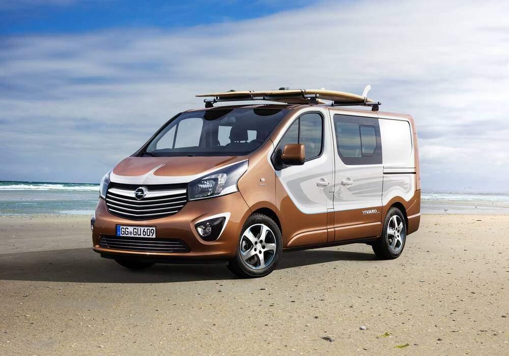 Fiche technique Opel Vivaro Surf Concept (2015)