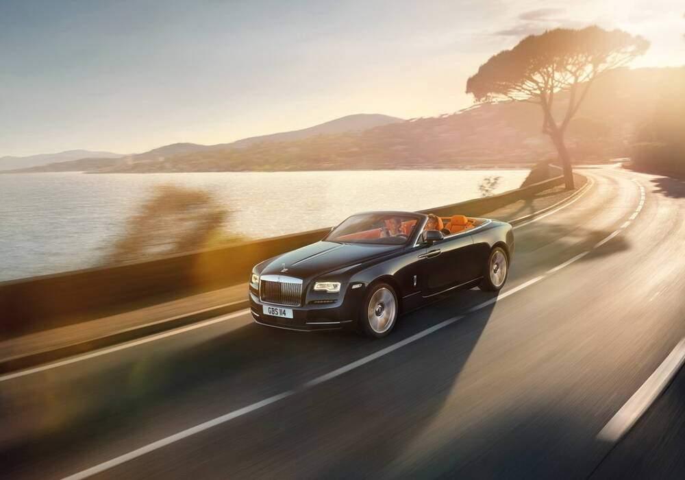 Rolls-Royce Dawn, elle se découvre