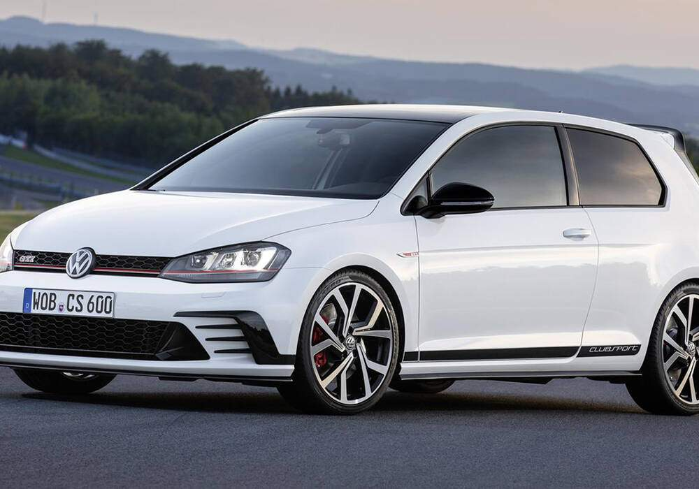 fiche technique volkswagen golf vii gti clubsport 2016 2017. Black Bedroom Furniture Sets. Home Design Ideas