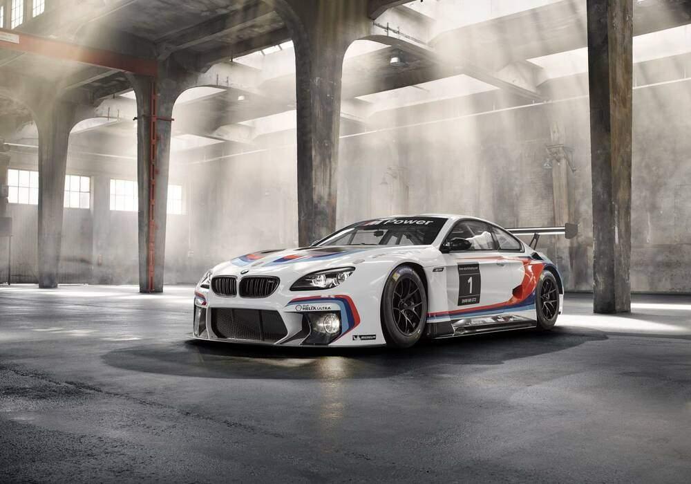 BMW M6 GT3 dévoilée
