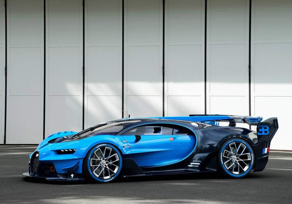 Bugatti Vision Gran Turismo Concept, le plein de photos