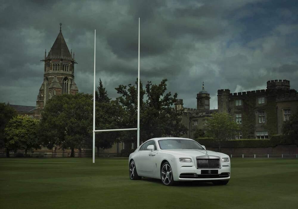 Rolls-Royce Wraith « History of Rugby », hommage au ballon ovale
