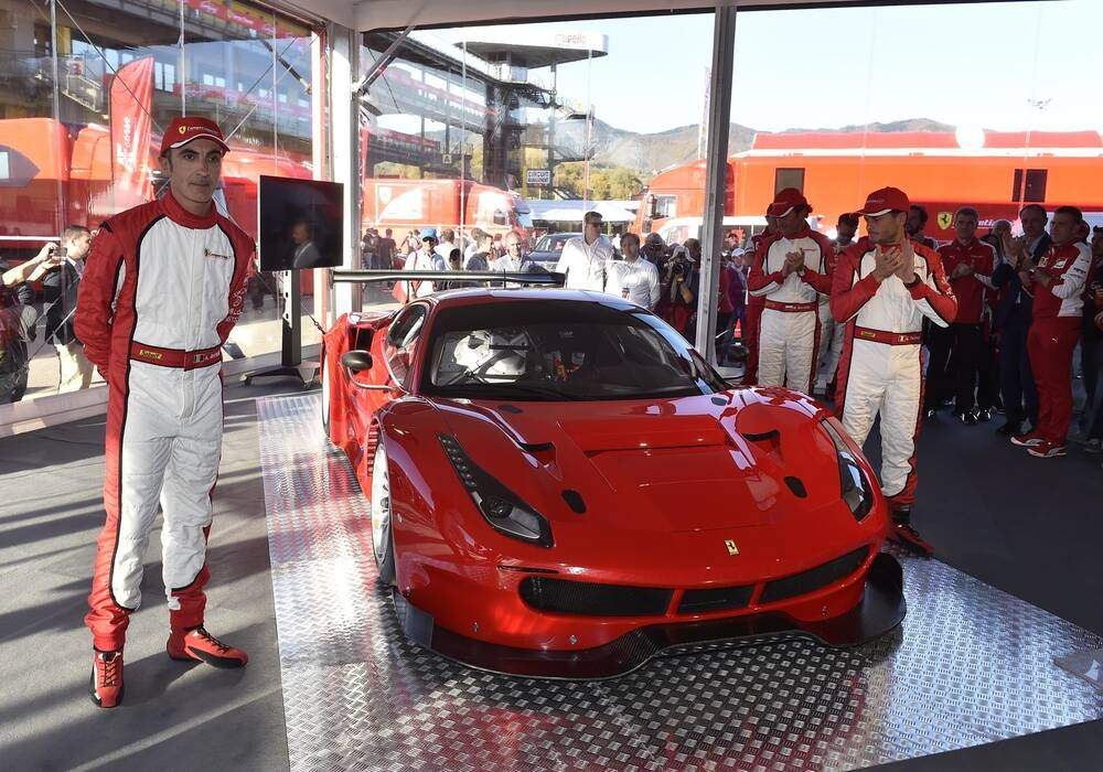 Fiche technique Ferrari 488 GT3 (2016)