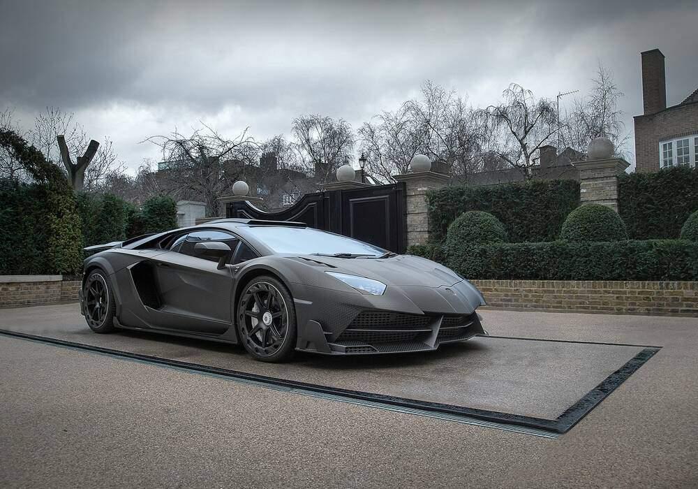 Mansory J.S.1 Edition sur base de Lamborghini Aventador Superveloce