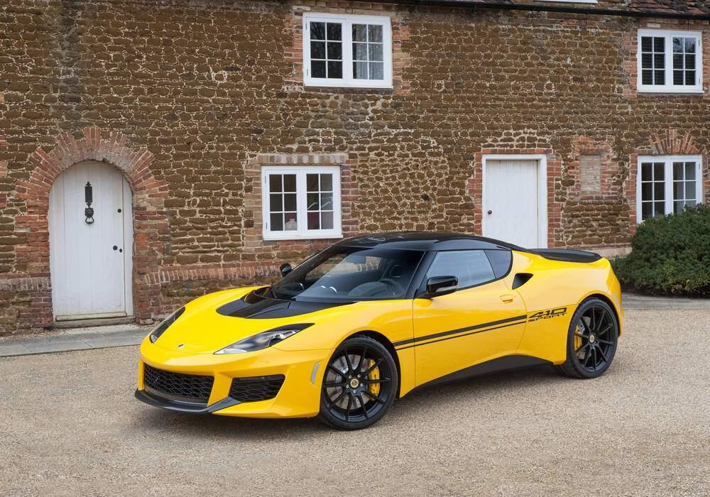 Lotus Evora Sport 410, toujours plus légère