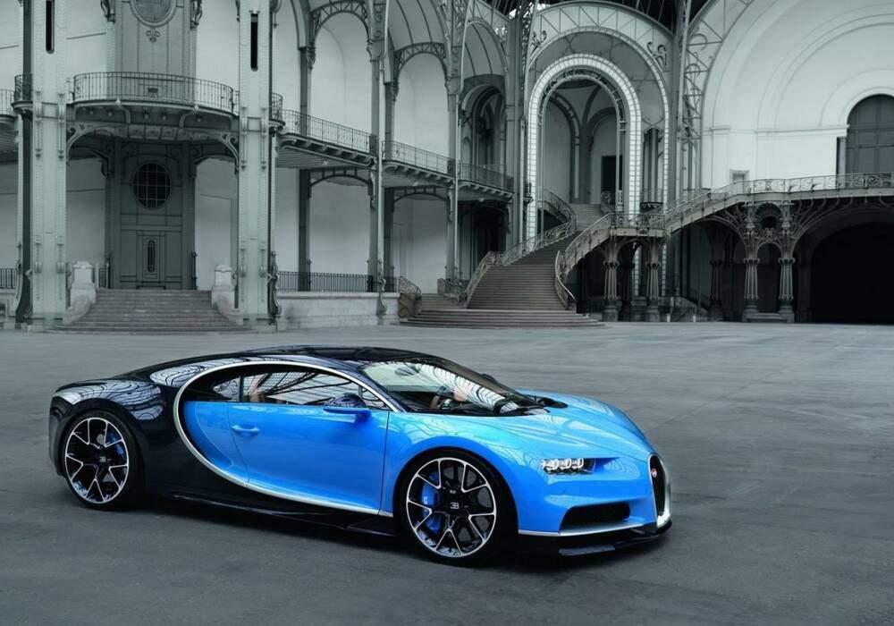 Bugatti Chiron, la voilà !