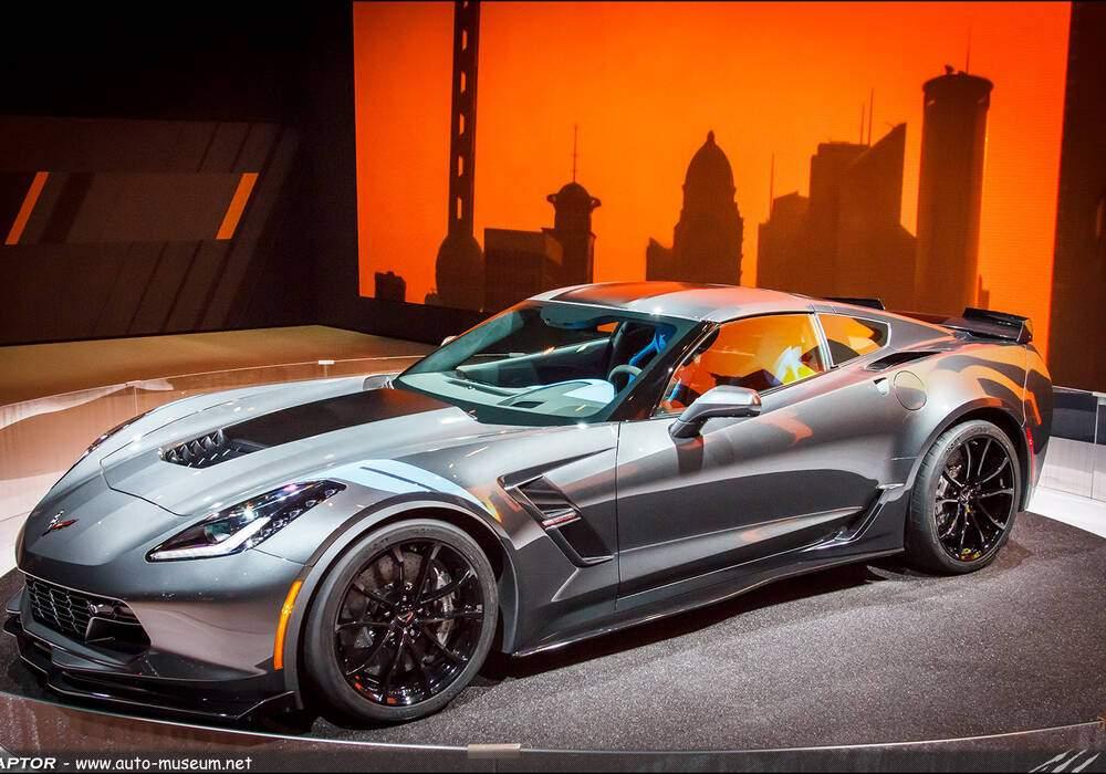 Genève 2016 : Corvette C7 Grand Sport