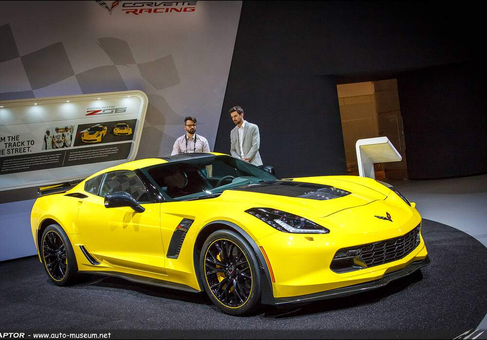 Genève 2016 : Corvette C7 Z06