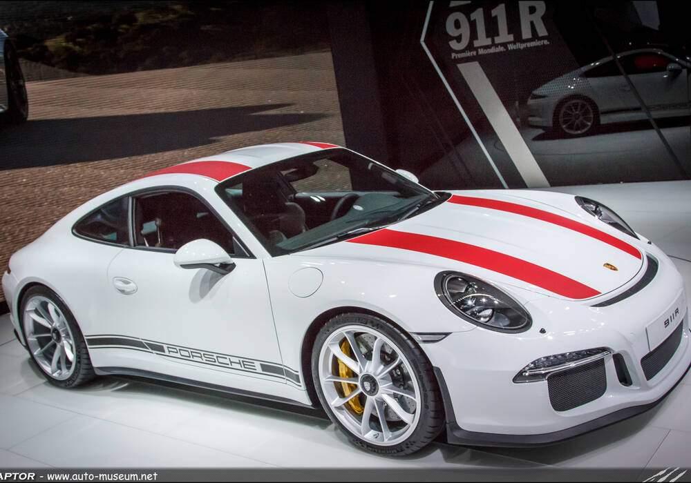 Genève 2016 : Porsche 911 R