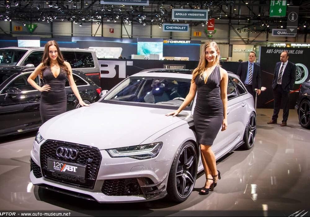 Genève 2016 : Abt RS6 Avant « 120 Years »