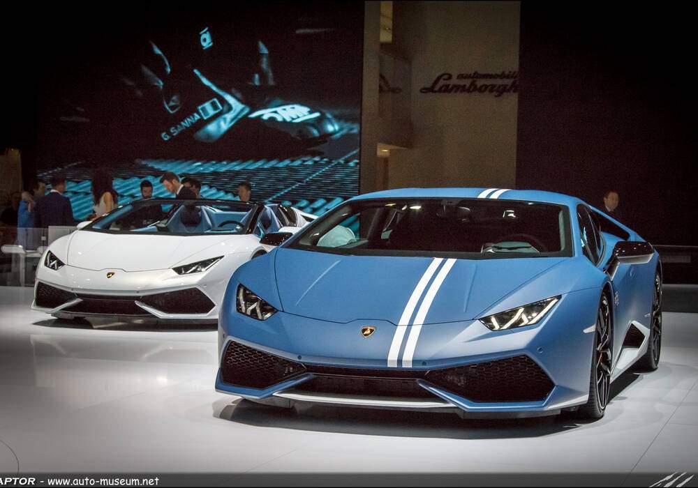 Genève 2016 : Lamborghini Huracán Avio