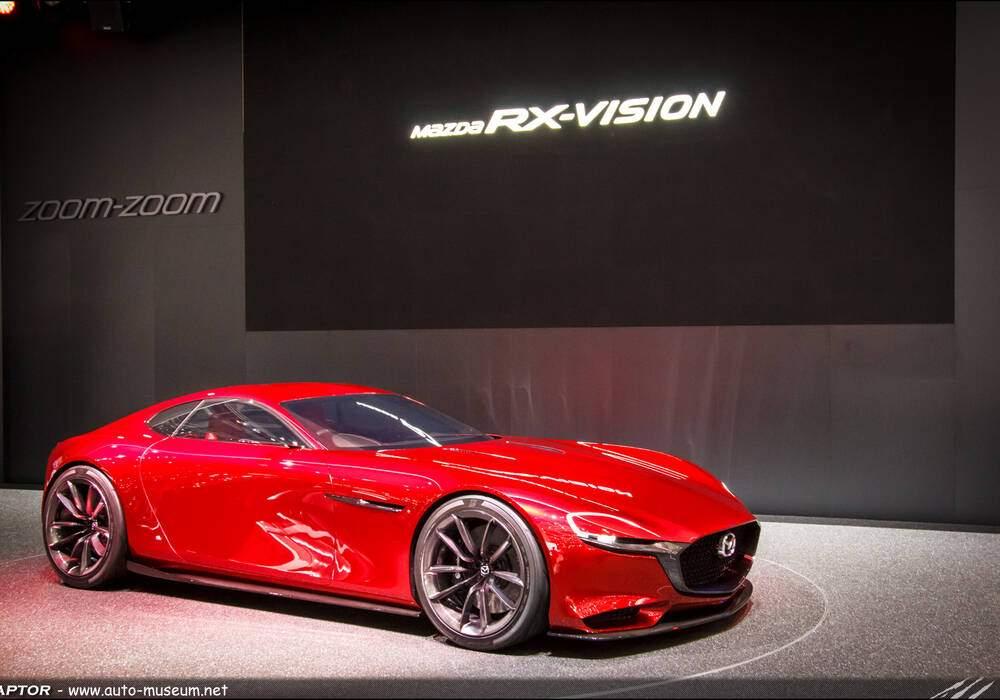 Genève 2016 : Mazda RX-Vision Concept