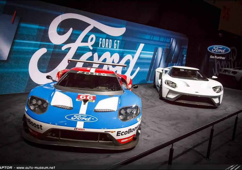 Genève 2016 : Ford GT et LM GTE Pro
