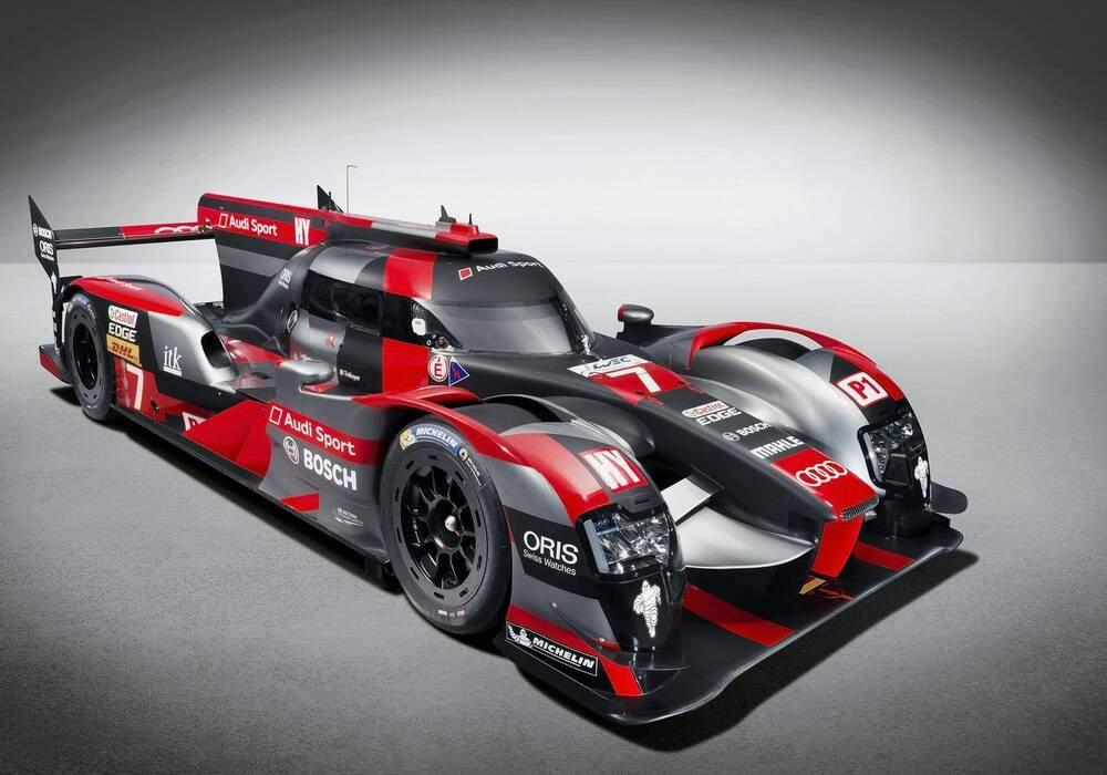 Audi R18 2016, prête pour le WEC et le Mans