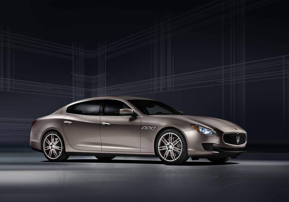 Fiche technique Maserati Quattroporte VI GTS (M156 ...