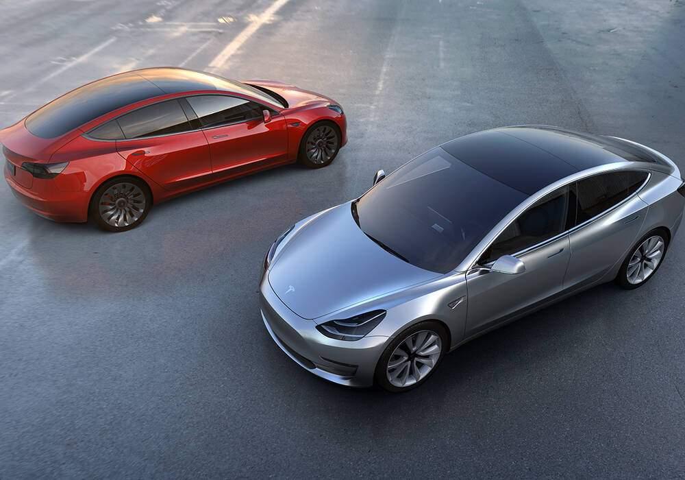 Tesla Model 3, à partir de 35 000 euros