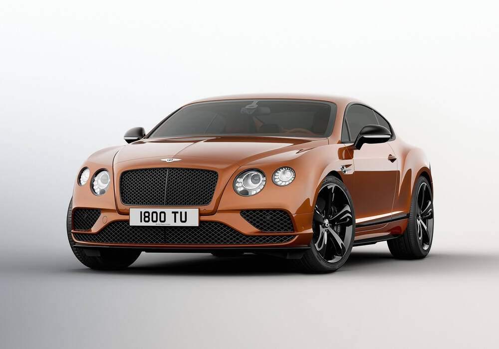 Bentley Continental GT Speed, 642 chevaux