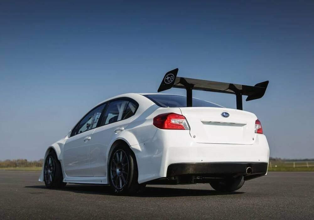 Subaru WRX STI par Prodrive, parée pour l'Île de Man