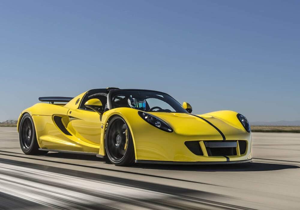 Venom GT Spyder, 428 km/h, cabriolet le plus rapide du monde