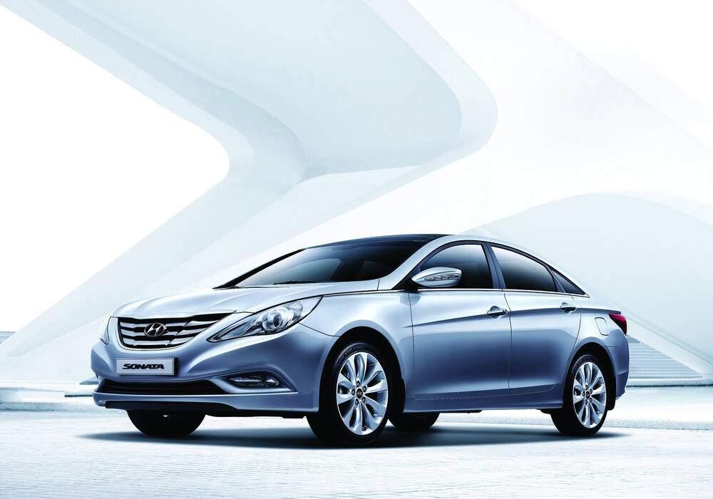 Fiche technique Hyundai Sonata VI 2.0 (YF) (2010-2014)