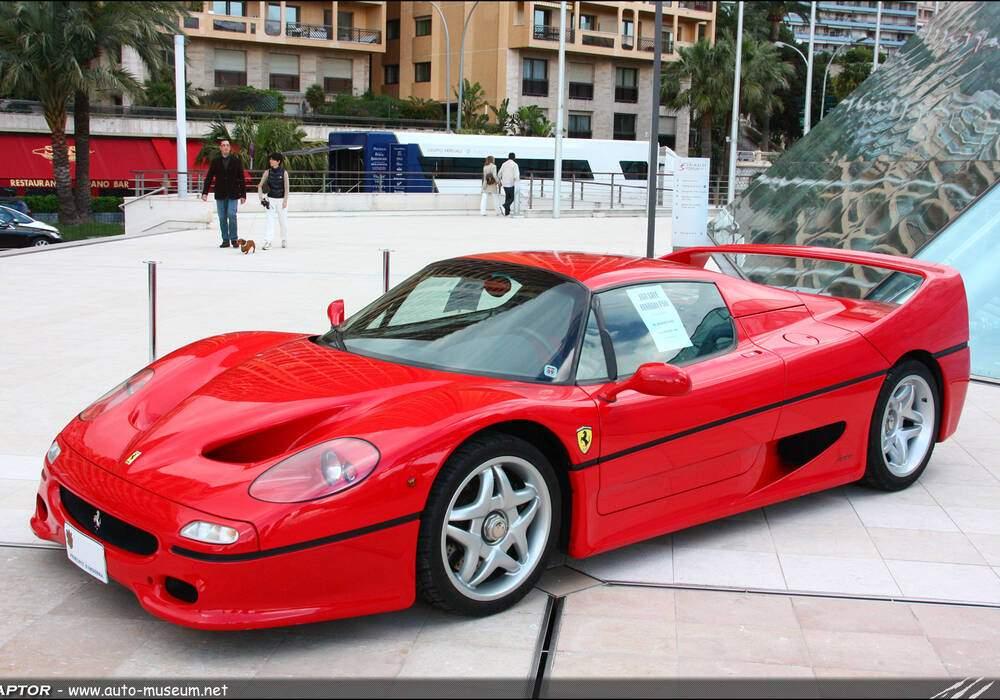 Fiche technique Ferrari F50 (1995-1997)