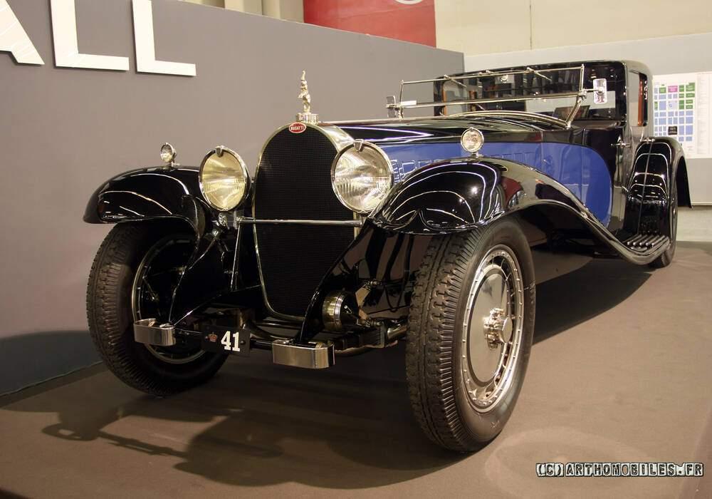 Fiche technique Bugatti Type 41 Royale (1927-1930)
