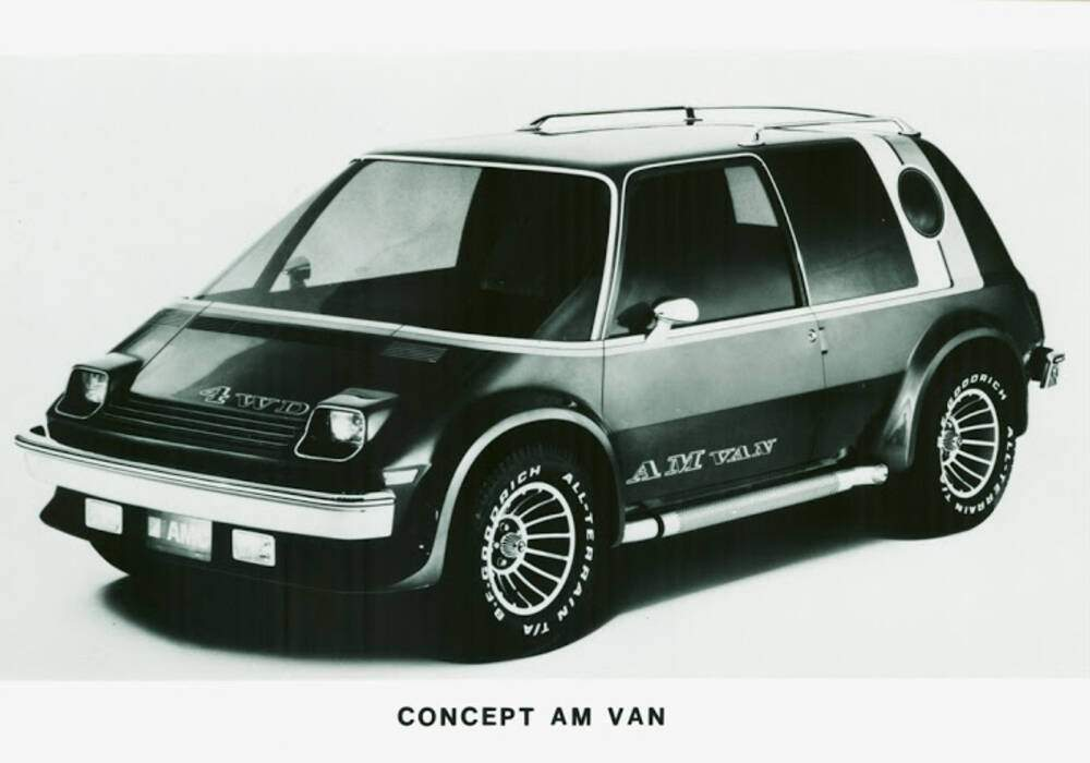 Fiche technique American Motors Concept AM Van (1977)