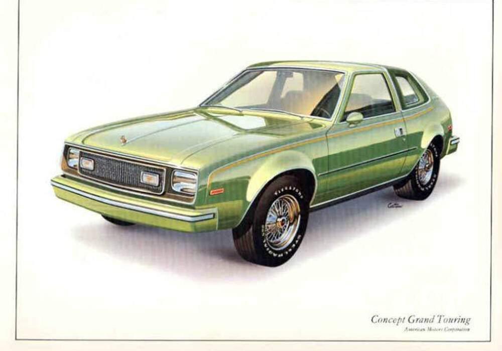 Fiche technique American Motors Concept Grand Touring (1977)